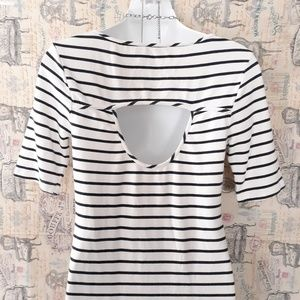 Tart Dresses - TART maternity stripe dress size S